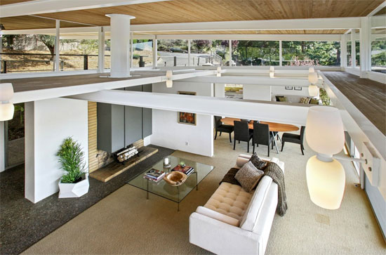 Beverley David Thorne-designed Case Study House #26 in San Rafael, California, USA