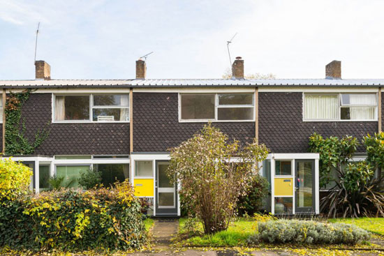 On the market: 1950s Eric Lyons-designed Span House on the Cator Estate, London SE3