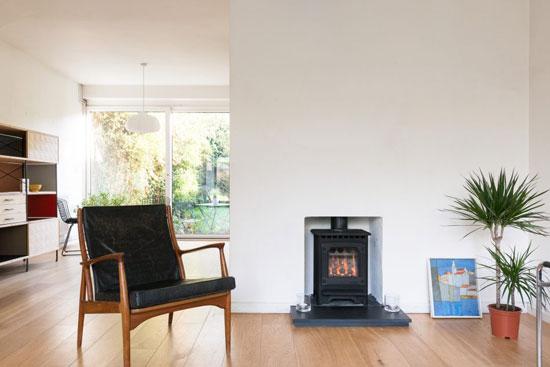 1950s Eric Lyons-designed Span House on the Cator Estate, London SE3
