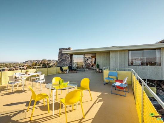 1950s Albert Frey-designed Cree House in Cathedral City, California, USA