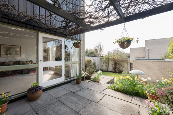 On the market: 1960s property on the Eric Lyons-designed Cedar Chase estate in Taplow, Buckinghamshire