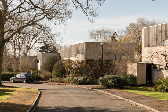 1960s property on the Eric Lyons-designed Cedar Chase estate in Taplow, Buckinghamshire