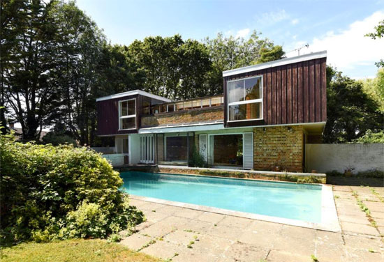 Time capsule for sale: 1960s modernist property in Chichester, West Sussex