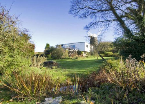 1960s five-bedroom modernist house plus windmill in Clayton, near Hassocks, West Sussex