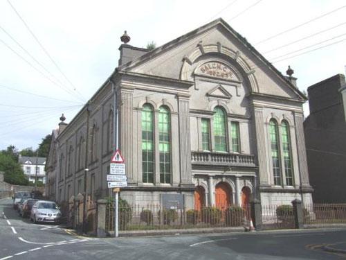 On the market: Salem Chapel in Pwllheli, North Wales