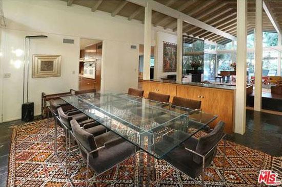 1960s Donald Park-designed midcentury property in Los Angeles, California, USA