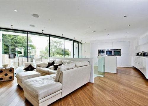 Modernist-inspired four-bedroom house for sale in Cheltenham, Gloucestershire