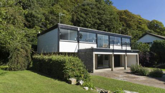 1970s Chert two-bedroom house in St Lawrence, Isle of Wight