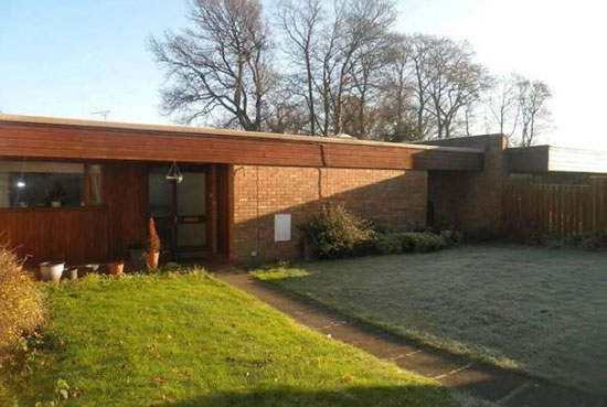 Up for auction: 1960s three-bedroom modernist bungalow in Chester, Cheshire