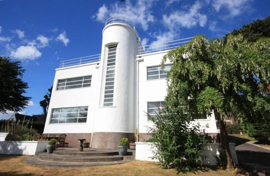 On the market: Chevrons 1930s art deco property in Llandudno, Conwy, North Wales