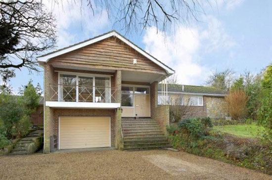 1960s architect designed kintail lodge house in westhampnett chichester west sussex