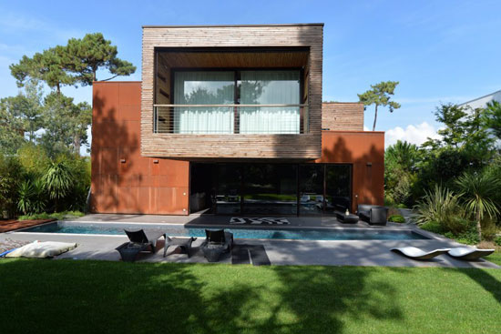 On the market: Alfred Chidiac-designed modernist property in Arcachon, south west France