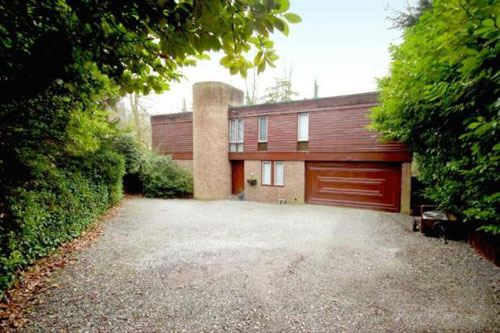On the market: 1980s four-bedroomed modernist-style house in Chislehurst, Kent