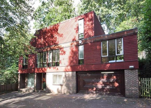 1980s Chu and Carter-designed five-bedroomed house in Chislehurst, Kent