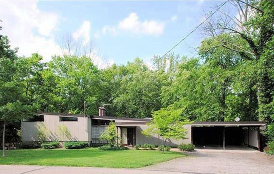 On the market: 1950s Jim Alexander-designed midcentury modern property in Cincinnati Ohio, USA