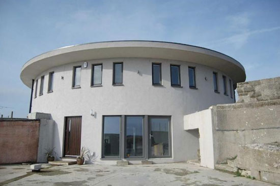 On the market: Five-bedroom architect-designed circular property in Portland, Dorset