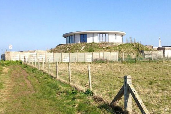 Five-bedroom architect-designed circular property in Portland, Dorset