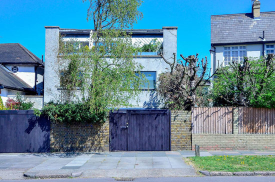 1960s architect-designed modernist property in Clapham Park, London SW2