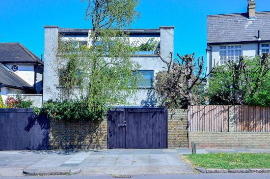 1960s architect-designed modernist property in Clapham Park, London SW2