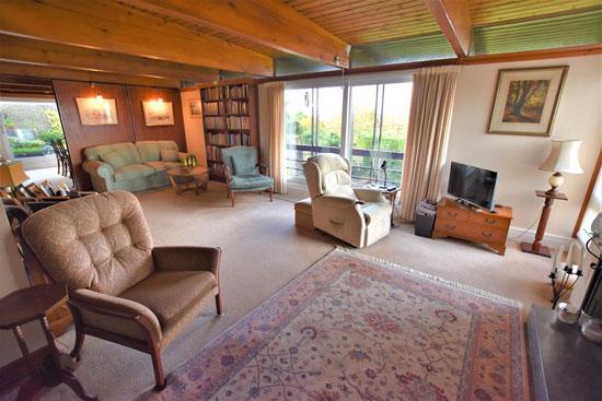 1960s Roger Dyer modern house in Clapton in Gordano, near Bristol