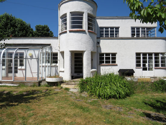 1930s art deco renovation project in Clevedon, Somerset