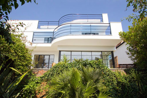 On the market: Five-bedroomed art deco house in Roedean, Brighton, East Sussex