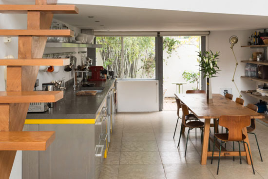 Duplex apartment in the 1960s modernist Cliff Road Studios in London NW1
