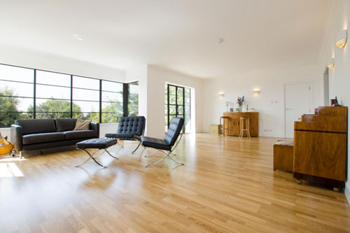 Five-bedroomed art deco house in Roedean, Brighton, East Sussex