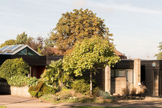 On the market: 1960s grade II-listed property on the Cockaigne Housing Group development in Hatfield, Hertfordshire