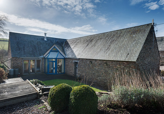 Murray Church-designed contemporary property in Cornworthy, near Totnes, Devon
