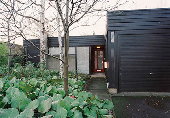 1960s grade II-listed single-storey property on the Cockaigne Housing Group development, Hatfield, Hertfordshire