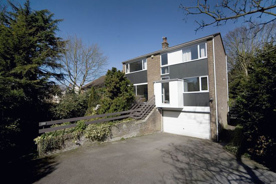 On the market: 1960s Bryan Thomas-designed six bedroom house in Colchester, Essex