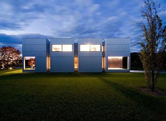 Ai Weiwei-designed three-bedroom contemporary modernist property in Taghkanic, New York State, USA