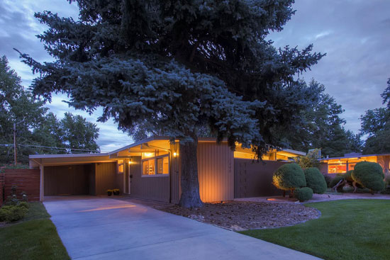 1950s midcentury modern property in Denver, Colorado, USA
