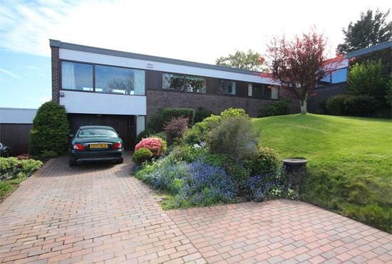 1970s modernism: Bowen Dann Knox-designed property in Colwyn Bay, Conwy, North Wales