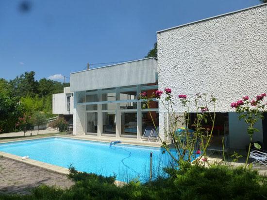 1960s Claude Calmettes-designed modernist property near Valence, south-east France