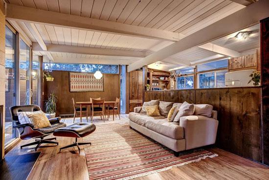 1950s midcentury modern property in Denver, Colorado, USA