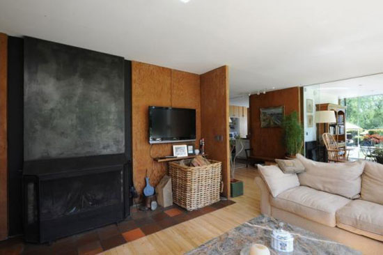 1970s Peter Aldington-designed three-bedroom modernist house in Higham, Colchester, Essex