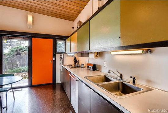 Time capsule for sale: 1950s Edward Hawkins-designed midcentury modern property in Littleton, Colorado, USA
