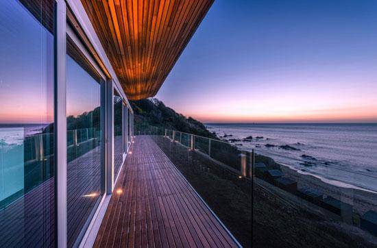 The Pavilion modernist property in Coldingham Bay, Scottish Borders