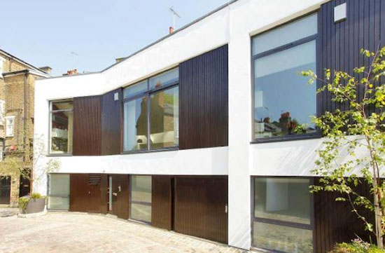 On the market: Conran and Partners-designed modernist mews house in Maida Vale, London W9