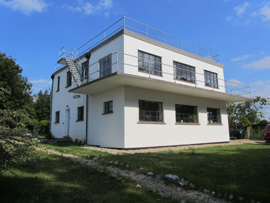 Holiday let: Art deco-style Control Tower in Walsingham, Norfolk