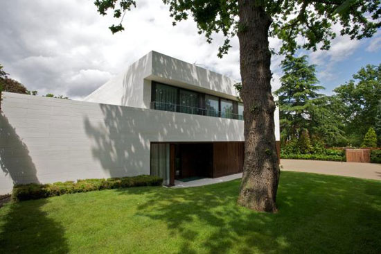 On the market: Ava House contemporary modernist property in Coombe Hill Road, Kingston Upon Thames, Surrey