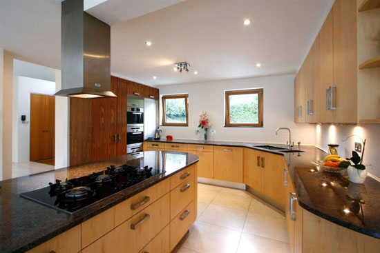 Five bedroom art deco-inspired house in Coombe Ridings, Kingston-upon-Thames, Surrey