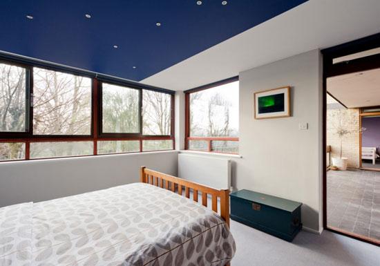 Four bedroom duplex apartment in the 1960s Dinerman, Davison & Hillman-designed Copper Beech in London N6