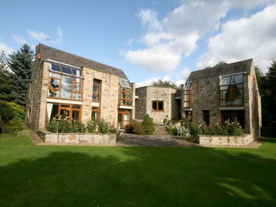 On the market: 1980s Hippingstones House five bedroom property in Corbridge, Northumberland