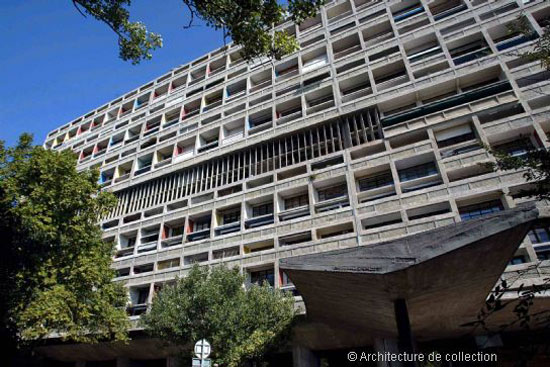 Three-bedroom apartment in the Le Corbusier-designed Cité Radieuse in Marseille, France