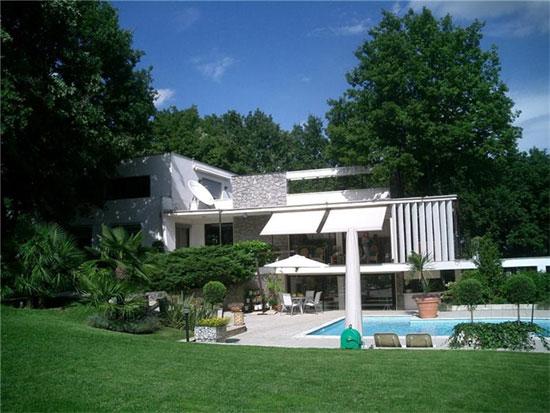 Le Corbusier House in Tassin-la-Demi-Lune, near Lyon, eastern France