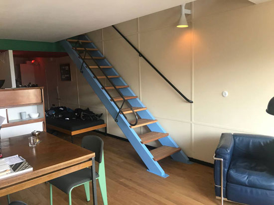 Airbnb find: Apartment in the Le Corbusier Unite d'Habitation in Berlin, Germany
