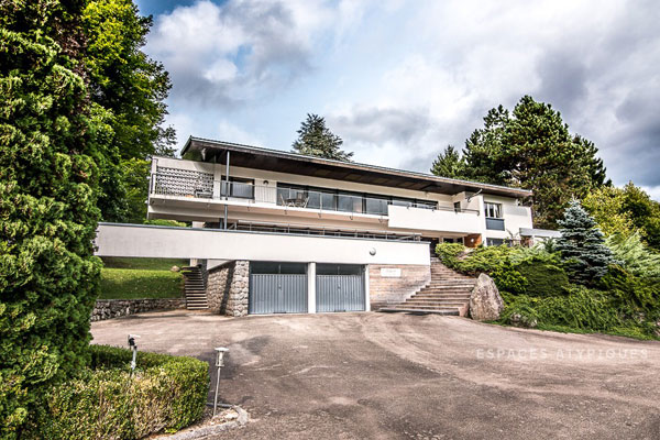 1960s Dimitri Franchini modernist house in Cornimont, France